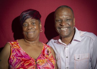 Linda Ngueme and Jerome Patterson