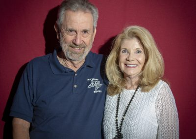 Carl Saunders & Barbara Barron
